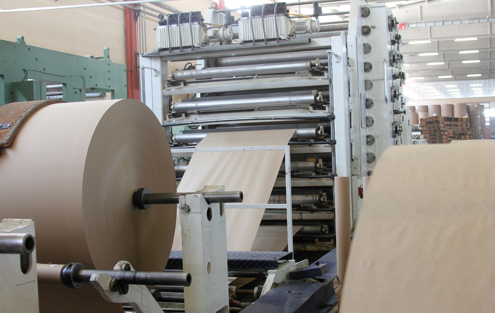 Corrugated Paperboard Machine