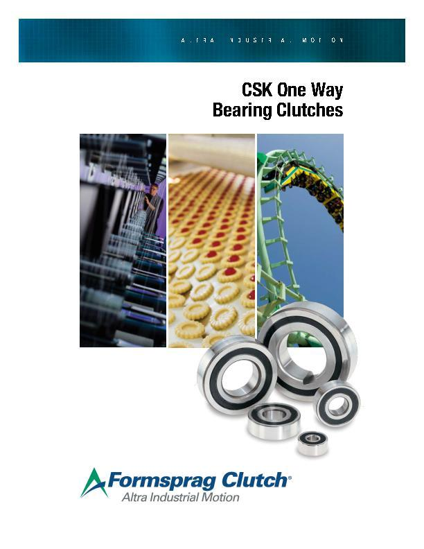 CSK One Way Bearing Clutches