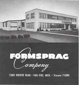 Formsprag Clutch Facility Photo Cover Retro