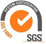 ISO 14001 SGS System Certification